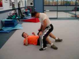 Groin Knee Self Defense