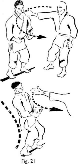 Martial Arts Left Stance Diagram