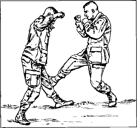 Krav Maga Drawing
