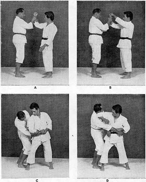 Self Defense Hands Hold