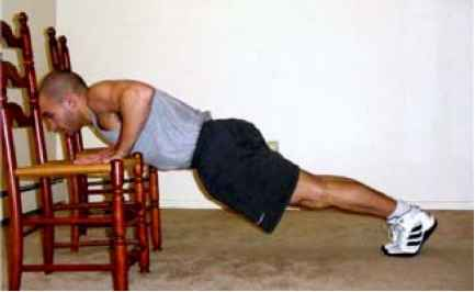 Pushup With Chairs