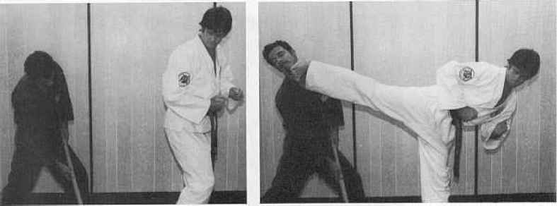Self Defense Shoulder Throw