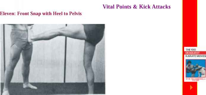Self Groin Women Defense Kick